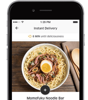 Create UberEats web and mobile app with Python, Swift and